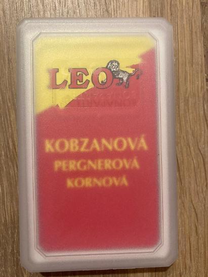 1 z 2 Legendární hrací Leo karty 32 listu- vzácné a přitom nové - Ostatní