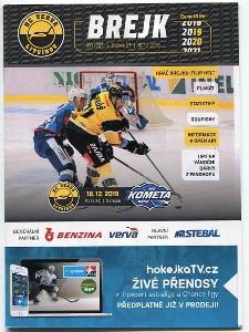 program hokej - HC Verva Litvínov - HC Kometa Brno 2019