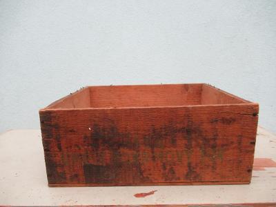 Stará dřevěná bedna