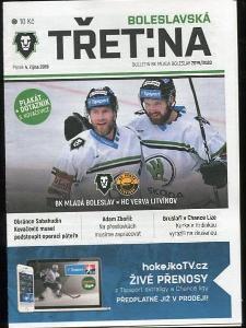 program hokej - Mladá Boleslav - HC Litvínov 2019