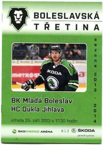program hokej - Mladá Boleslav - Dukla Jihlava 2013
