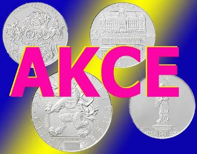 Akce: 100 sad 2018 bk za super cenu! Máme skladem 25.000 mincí ČNB !