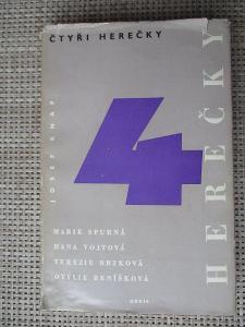 Knap Josef -  Čtyři herečky  (1. vydání)