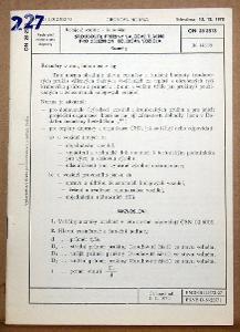 STARÁ NORMA ON 28 2513 1974 ŠROUBOVÉ PRUŽINY KOLEJOVÝCH VOZIDEL ČSD