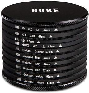 GOBE sada 10 fotofiltrů 67mm - pův. cena 3 000 Kč!