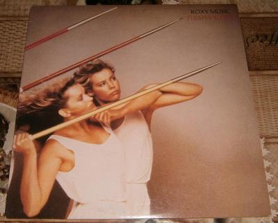 LP - Roxy Music - Flesh + Blood (US 1980) / Perfektní stav!