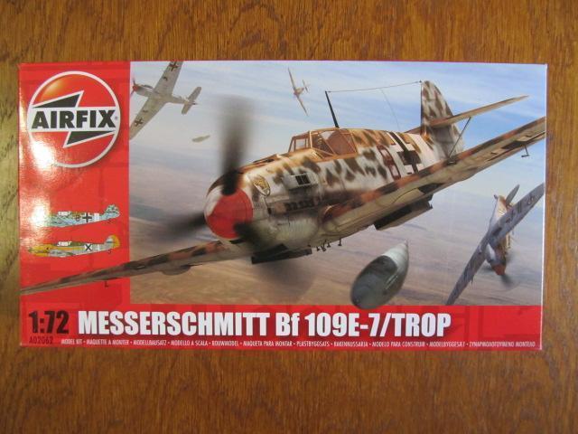 Bf-109E-7/Trop  Airfix 1:72 - Modelářství