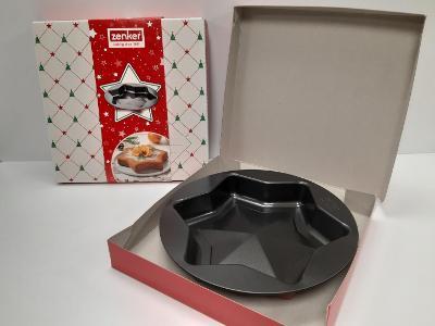 Forma ZENKER vánoční hvězda, německá kvalita, dárkové balení, nová