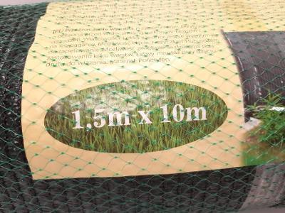Zelená textilie na plot, stínící, proti zvědavým sousedům, 10 m ! nové