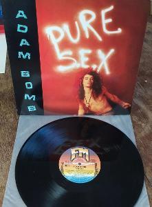 LP Adam Bomb - Pure S.E.X  VG+/EX