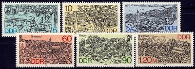 DDR 1988 **/ Mi. 3161-6 , komplet , /Z3/