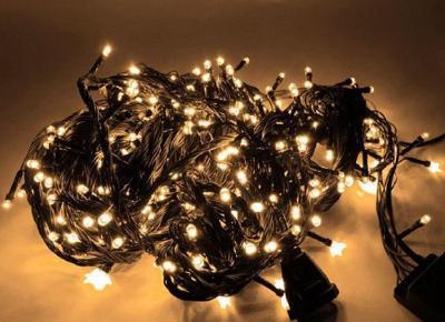 VÁNOČNÍ OSVĚTLENÍ 100 LED - ŘETĚZ LAMPIČKY - NOVÉ