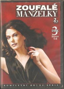 DVD: Zoufalé manželky S02E5-6 (2005)