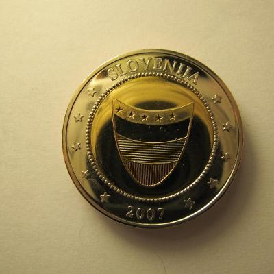 Slovinsko - 2007, pamětní medaile o vstup do EU
