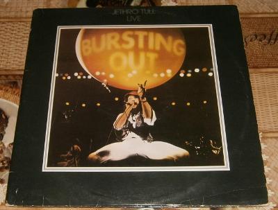 LP - Jethro Tull - Live - Bursting Out (2LP) (1979)
