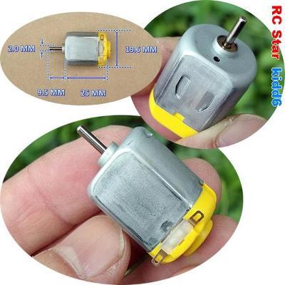 DC Mini Motor FP130 Large torque DC12V / RPM 13300 ot.min
