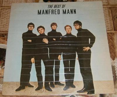 LP - Manfred Mann - The Best of... (India 1980) / Perfektní stav!