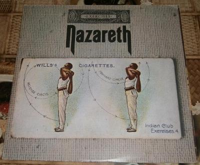 LP - Nazareth - Exercises (Germany 1972)