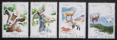 Guinea-Bissau 2014 Čínský nový rok, rok kozy Mi# 7437-40 Kat 14€ 2171