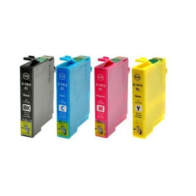 (11) Cartridge Epson E-1811 XL , 1812 XL, 1813 XL, 1814 XL (sada 4 ks)