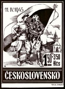"""ČSR - PRACOVNÍ FOTOGRAFIE """"ZNÁMKY"""" - TZV. SKALICKÉ VYDÁNÍ 1945 (S1069)"""