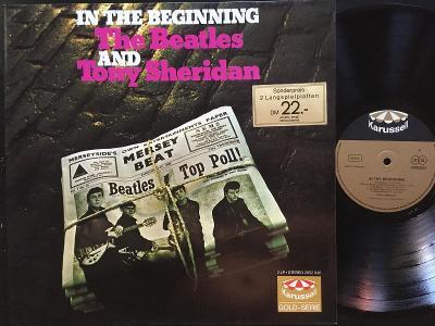 The Beatles, Tony Sheridan In The Beginning VG/VG+, 2 LP