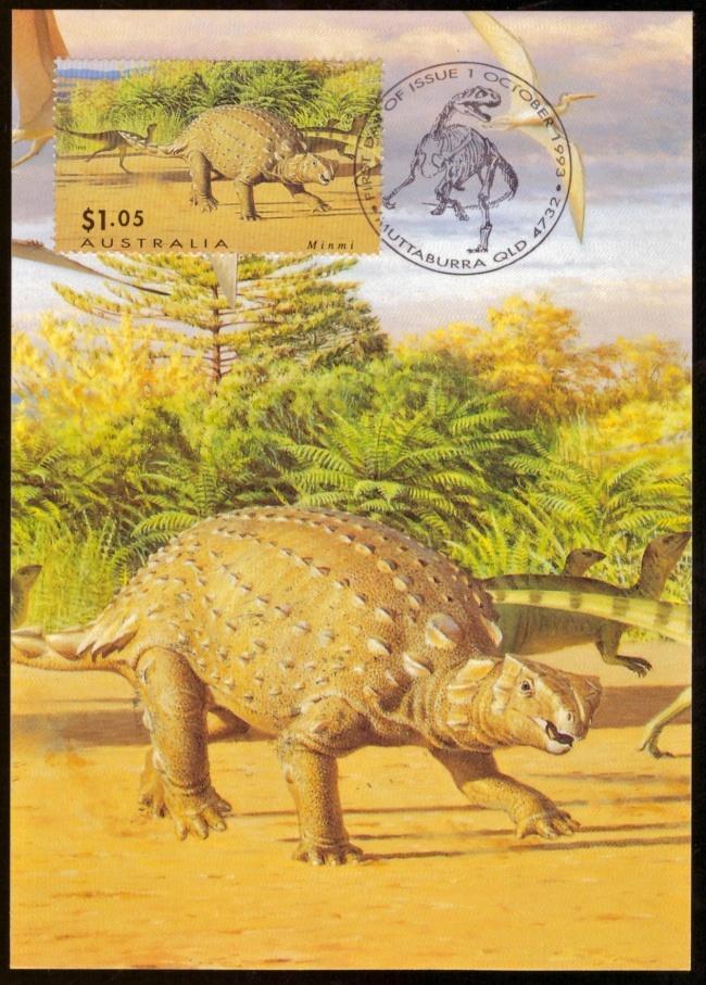 AUSTRÁLIE - ANALOGICKÁ POHLEDNICE JEŠTĚŘI, 1993 (S1093) - Filatelie