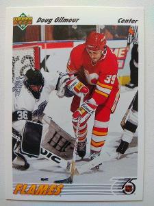 Doug Gilmour #188 Calgary Flames 1991/92 Upper Deck
