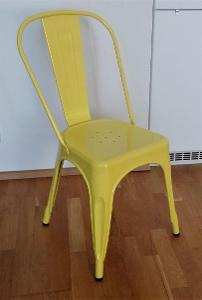 nová žlutá židle Factory