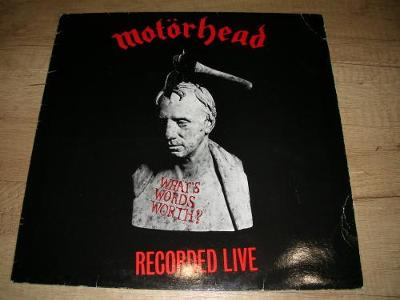 Motörhead – What's Words Worth? (1983) 1.Press , TOP STAV!!!