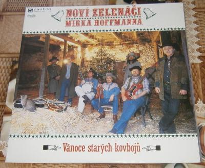 LP-Zelenáči Mirka Hoffmanna-Vánoce starých kovbojů /příloha/Perf.stav!