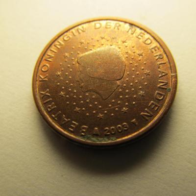 Euromince - Nizozemsko 1 Eurocent - 2003