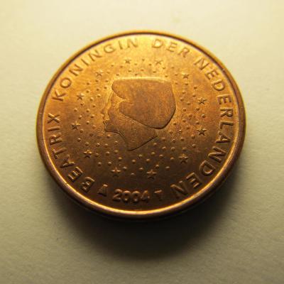 Euromince - Nizozemsko 1 Eurocent - 2004