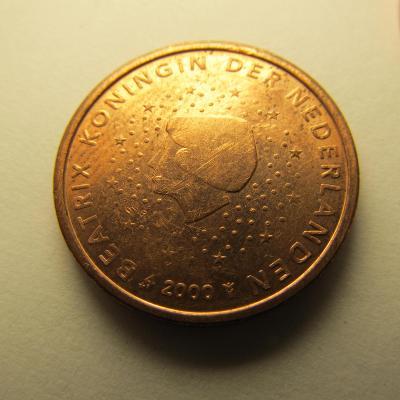Euromince - Nizozemsko 2 Eurocent - 2000