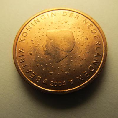 Euromince - Nizozemsko 2 Eurocent - 2004