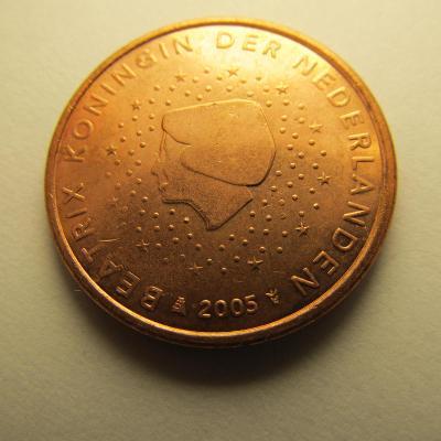 Euromince - Nizozemsko 5 Eurocent - 2005
