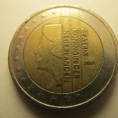 Euromince - Nizozemsko 2 Euro - 2001