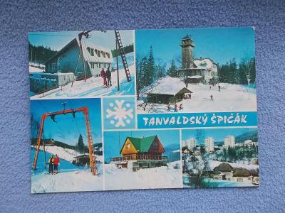 Liberec Jizerské hory Jablonec nad Nisou Tanvald Špičák vlek lyže