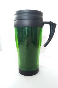 Termo hrnek lahvově zelený Tesco 17 cm