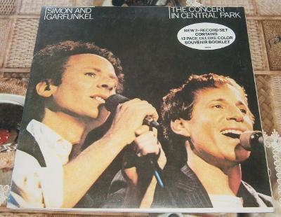 LP - Simon and Garfunkel - The Concert in Central Park (2LP) / Příloha