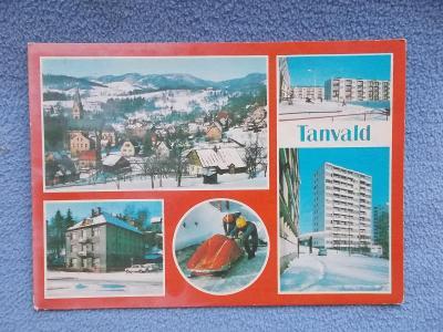 Liberec Jizerské hory Jablonec nad Nisou Tanvald Boby dráha