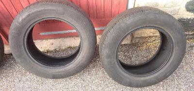 Prodám 2x pneu Continental PremiumContact