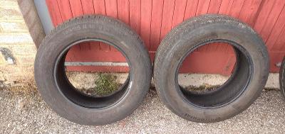 Prodám 2x pneu Continental EcoContact3