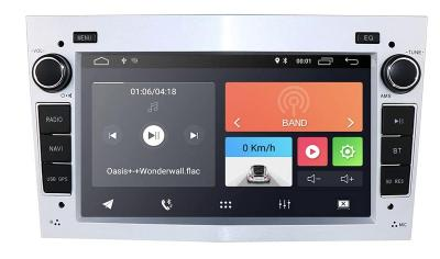 2GB Android 2din autoradio OPEL - KAMERA, GPS navigace, rádio pro OPEL