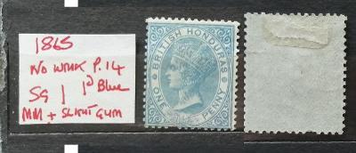 Britský Honduras / Belize 1865 - SG1 70£