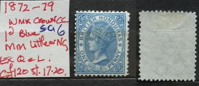British Honduras 1872-9 - SG6 120£