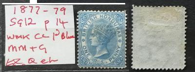 Britský Honduras / Belize 1877-9 - SG12 90£