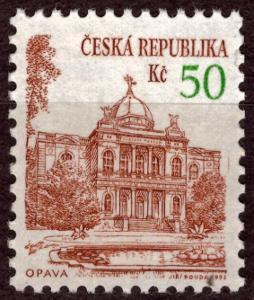 POF. 19 - MĚSTSKÁ ARCHITEKTURA, OPAVA 50 KČ - DV 38/1 (T9722)
