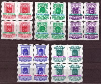 POF. 89-93 - HISTORICKÉ STAVEBNÍ SLOHY, 1995 - ČTYŘBLOKY (T9723)