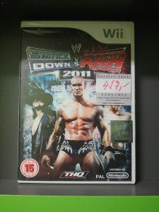 WWE Smackdown vs Raw 2011 (Wii) - kompletní, jako nová